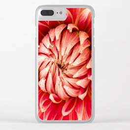 Parkland Glory Dahlia 2 Clear iPhone Case