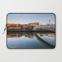 River Liffey Reflections Laptop Sleeve