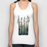 tennessee Tank Tops featuring Tennessee Mist by Derik Hobbs Illustration