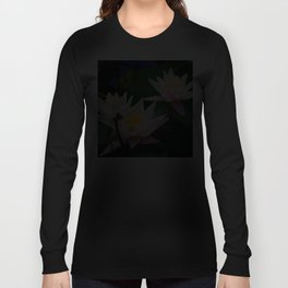 Water Lily neighbours and friends Long Sleeve T-shirt
