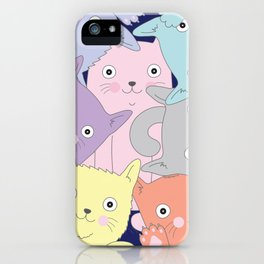 Curious Cats iPhone Case