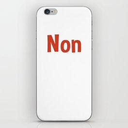 Non iPhone Skin