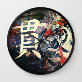 ATTACKING TIGER Wall Clock