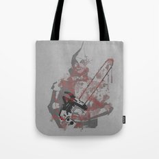 if i only had a chainsaw Tote Bag