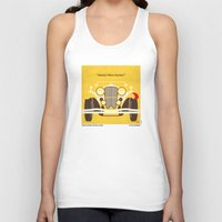fitzgerald Tank Tops featuring No206 My The Great Gatsby minimal movie poster by Chungkong