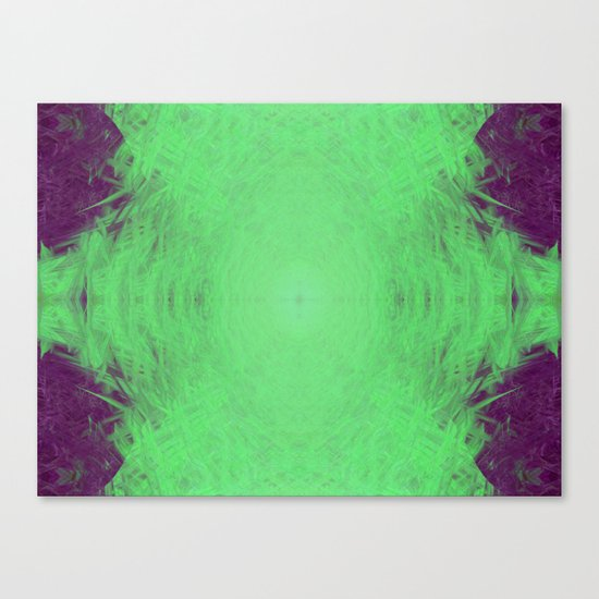 Alien Energy Canvas Print
