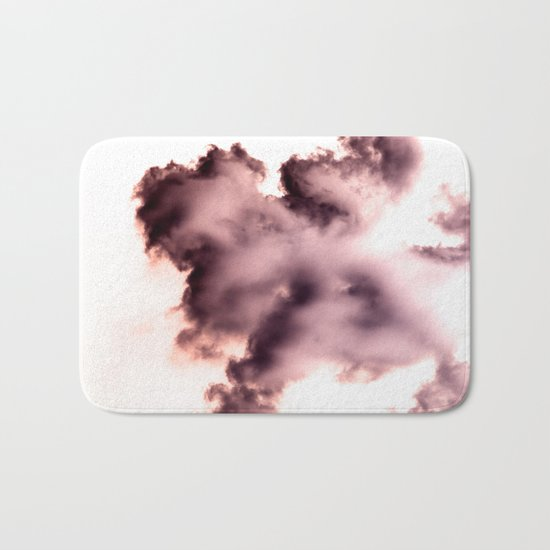 Smoke chemical Bath Mat
