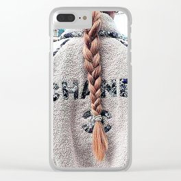 TURN AROUND Clear iPhone Case
