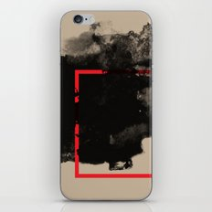 watercolor ink square iPhone & iPod Skin