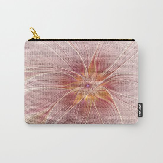 Soft Summer Dream, Fantasy Flower Carry-All Pouch