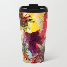 fallen leaves II Travel Mug