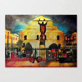 Royal Jesus Canvas Print