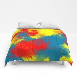 Paint Ballin' Comforters