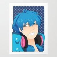 dmmd Art Prints featuring Aoba by Liyu
