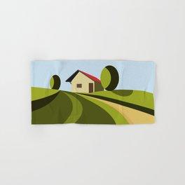 Cottage On Hill III Hand & Bath Towel
