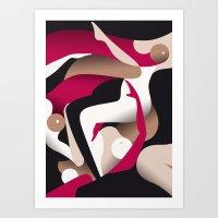 Limo Art Print