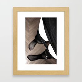 The perfect wife Framed Art Print