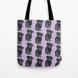 Yorkiepoo Pups Tote Bag