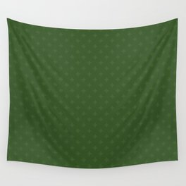 Christmas Heart Snowflakes Pattern Wall Tapestry