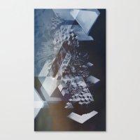 san francisco Canvas Prints featuring San Francisco by Subcon