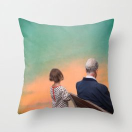 The wonderful stories of my grandfather Throw Pillow