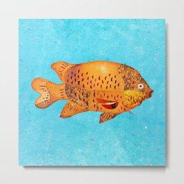 Garibaldi Fish Metal Print