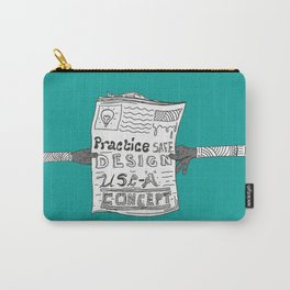 Safe Design illustration Carry-All Pouch