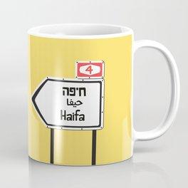 Haifa, This Way Coffee Mug