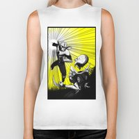 fight Biker Tanks featuring Fight by TrueLoveStory