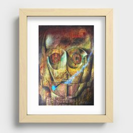 Rebel C3Po painting Recessed Framed Print