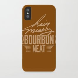 Hair Messy Bourbon Neat iPhone Case