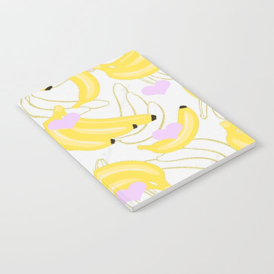 Bananas with love  Notebook