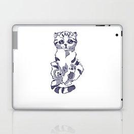 Levitating Cat Laptop & iPad Skin