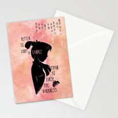 Better to Light a Candle Stationery Cards