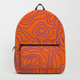 Typographic map Backpack