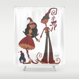 Have YoursELF a Merry Little Christmas! Shower Curtain