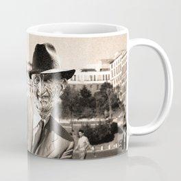 FREDDIE KRUEGER IN ROMAN HOLIDAY Coffee Mug