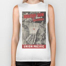 Vintage poster - Boulder Dam Biker Tank