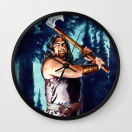 Charmed Huntsman Wall Clock