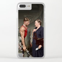 Promotion on job Clear iPhone Case