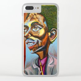"""Theodore """"Teddy"""" Marcus Edwards Clear iPhone Case"""