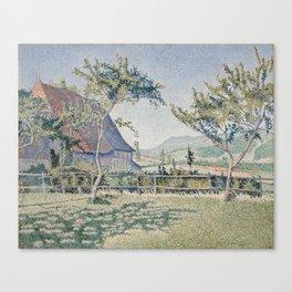 Comblat-le-Château, the Meadow Canvas Print