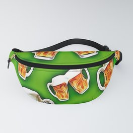 Beers forever-Green Fanny Pack