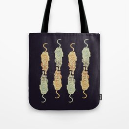Tigers at Dusk Tote Bag