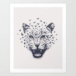 Nature´s Roar Art Print