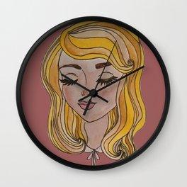 -lashes- Wall Clock