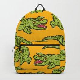 Giant crocodile Backpack