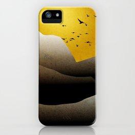 Sunrise Mountain Landscape iPhone Case