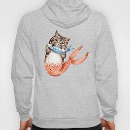 Cute Purrmaid Cat Mermaid Hoody