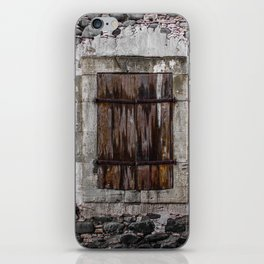 Wooden Window iPhone Skin